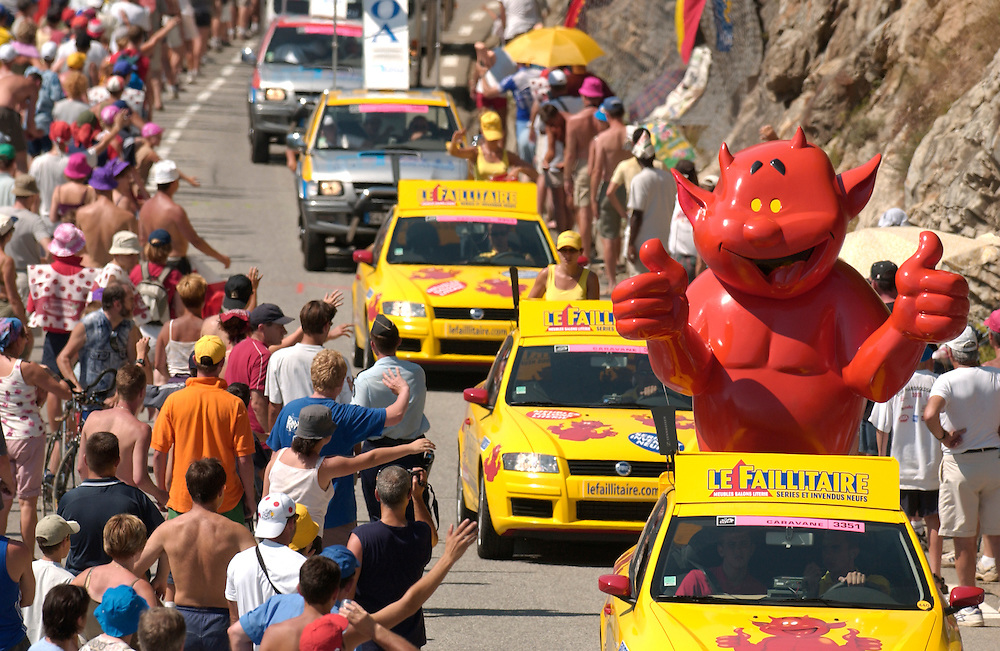 Tour de France publicity caravan