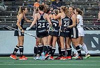 AMSTELVEEN -  tijdens de halve finale-wedstrijd dames, Duitsland-Spanje (4-1)  bij het  EK hockey , Eurohockey 2021. COPYRIGHT KOEN SUYK
