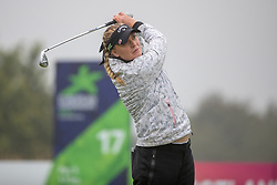 Sweden's Cajsa Parsson tees off at the 17th hole during her semi final match this morning with Great Britain during day eleven of the 2018 European Championships at Gleneagles PGA Centenary Course. PRESS ASSOCIATION Photo. Picture date: Sunday August 12, 2018. See PA story GOLF European. Photo credit should read: Kenny Smith/PA Wire. RESTRICTIONS: Editorial use only, no commercial use without prior permission
