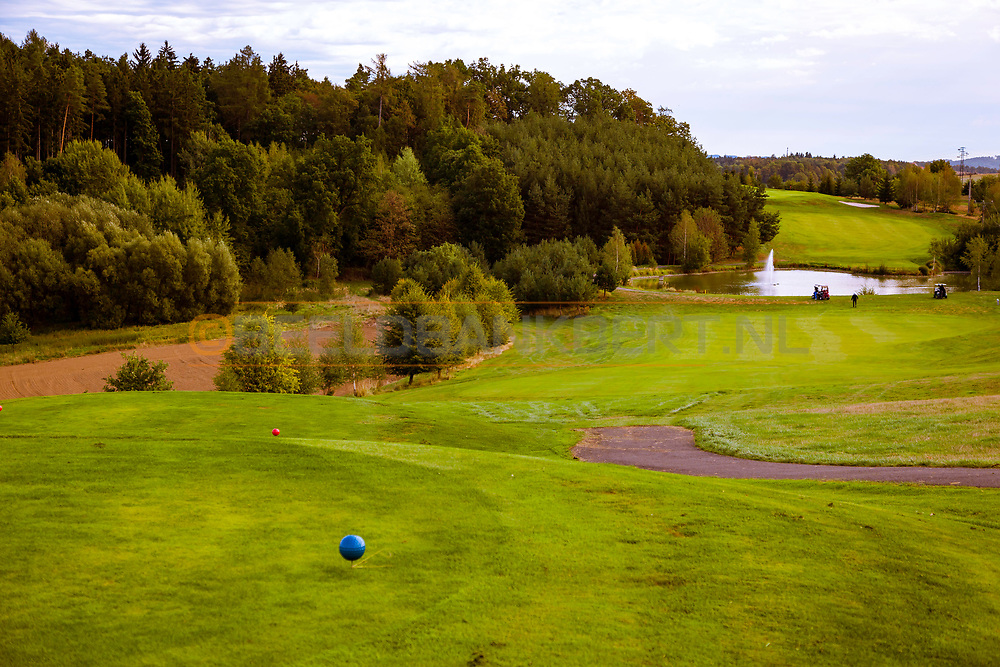 18-09-2015: Golf & Spa Resort Konopiste in Benesov, Tsjechië.<br /> Foto: De pittige zevende