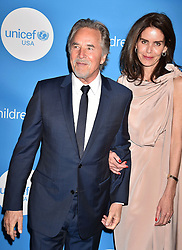 BEVERLY HILLS, CA - APRIL 14: Actress Alyssa Milano attends the 7th Biennial UNICEF Ball at the Beverly Wilshire Four Seasons Hotel on April 14, 2018 in Beverly Hills, California. 14 Apr 2018 Pictured: Don Johnson, Kelley Phleger. Photo credit: TM/ROT/Capital Pictures / MEGA TheMegaAgency.com +1 888 505 6342