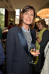 LAURA GOEDHUIS at a ladies lunch in aid of the charity Maggie's held at Le Cafe Anglais, 8 Porchester Gardens, London on 29th April 2014.