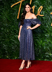 Lilah Parsons attending the Fashion Awards in association with Swarovski held at the Royal Albert Hall, Kensington Gore, London.