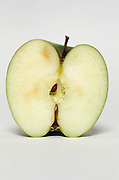 cross section of an apple