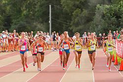 High School Mile, girls start