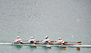 Munich, GERMANY,  GER W4X during the morning training session.  Thursday  17/06/2010. 2010 FISA World Cup.   [Mandatory Credit Peter Spurrier/ Intersport Images]