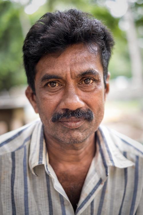 Portrait of Sinhalese man