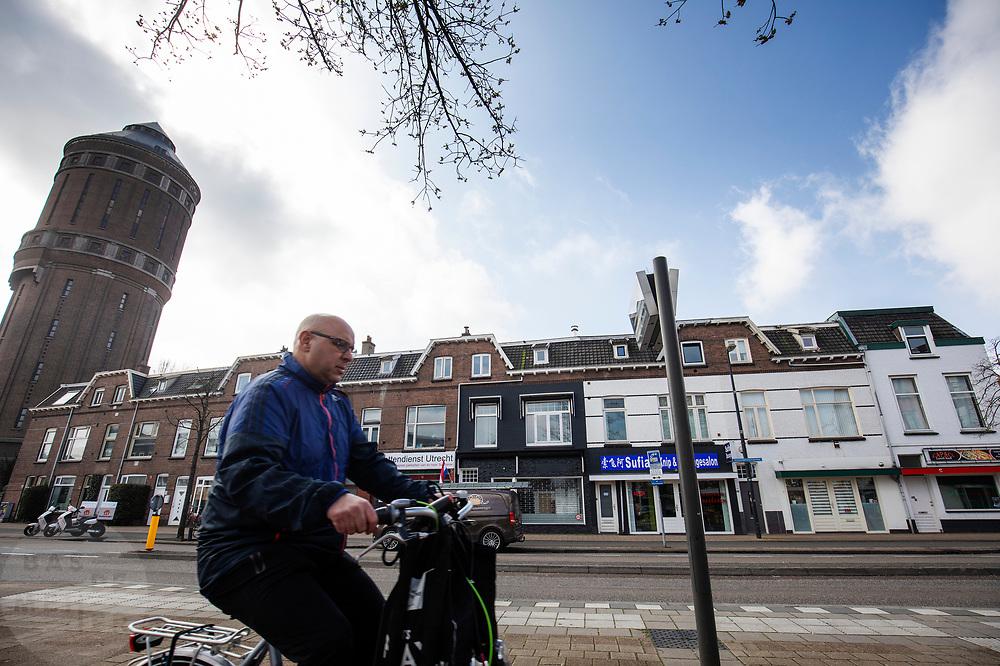 Huurwoningen ter hoogte van de Amsterdamsestraatweg 400 in Utrecht.