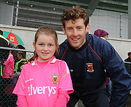 Fans meet up with the Mayo players at Mayo Gaa's Open evening.