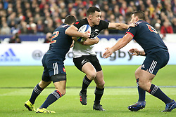 November 11, 2017 - Paris, France - Ryan Crotty in action during the International test match between France and New Zealand at Stade de France. (Credit Image: © SOPA via ZUMA Wire)