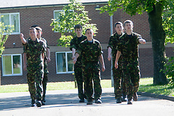 Exercise Guards Warrior with the Scots Guards at their Catterick base..Pic ©2010 Michael Schofield. All Rights Reserved.