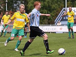 FODBOLD: Ronni Andersen (Helsingør) under kampen i Danmarksserien, pulje 1, mellem Elite 3000 Helsingør og Skovlunde IF den 6. juni 2010 på Helsingør Stadion. Foto: Claus Birch