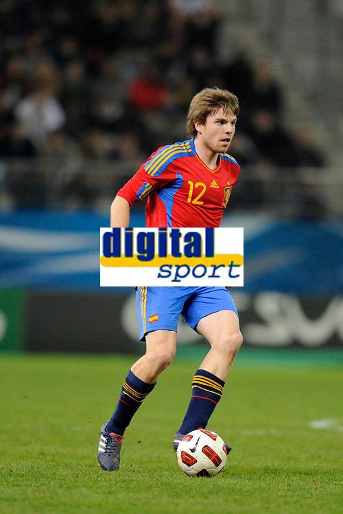 FOOTBALL - UNDER 21 - FRIENDLY GAME - FRANCE v SPAIN - 24/03/2011 - PHOTO GUILLAUME RAMON / DPPI - ASIER ILLARRAMENDI (SPA)
