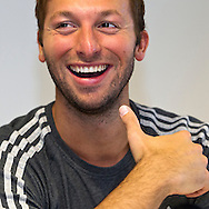"Swimmer Ian THORPE of Australia is pictured during a press confercene held at the Centro sportivo nazionale della gioventu (""youth and sports""-Centre) in Tenero, Switzerland, Wednesday, March 16, 2011. Five-time Olympic gold medallist Ian Thorpe has finalised his coaching set-up ahead of next year's London Olympic Games, announcing today that he will link up with former Australian Institute of Sport Coach and Russian born Gennadi Touretski in Switzerland. (Photo by Patrick B. Kraemer / MAGICPBK)"