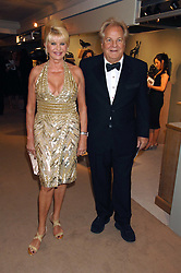 IVANA TRUMP and MASSIMO GARGIA at the Grosvenor House Art & Antiques Fair Gala evening in aid of the UKês oldest childrenês charity CORAM held at the Grosvenor House Hotel, Park Lane, London on 14th June 2007.<br /><br />NON EXCLUSIVE - WORLD RIGHTS