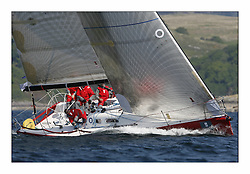 Bell Lawrie Scottish Series 2008. Fine North Easterly winds brought perfect racing conditions in this years event..Class 2 winner IRL 789 Rosie