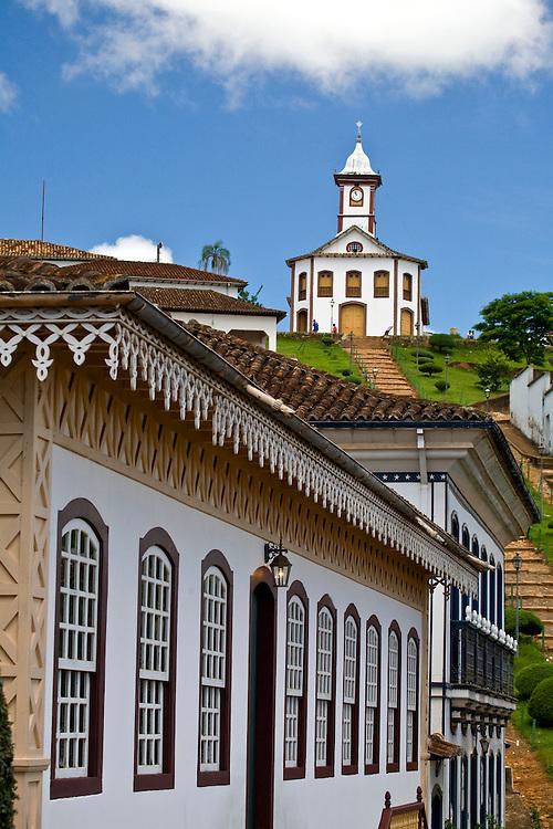Serro_MG, Brasil...Igreja de Santa Rita na cidade de Serro...The Santa Rita church in Serro...Foto: JOAO MARCOS ROSA / NITRO