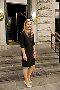 Davina Gray Co. Louth at Hotel Meyrick in Eyre Sq. Galway for their best dressed Lady Competition during Galway's Race week . Photo:Andrew Downes