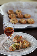 May0042392 . Daily Telegraph..DT Weekend..Stevie Parle page..Sicilian Pistachio biscuits...London 25 September 2012