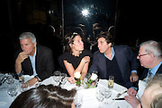 LARRY GAGOSIAN, ELIZABETH SALTZMAN AND BRYAN FERRY, Exhibition of work by Marc Newson at the Gagosian Gallery, Davies st. London. afterwards at Mr. Chow, Knightsbridge. 5 March 2008.  *** Local Caption *** -DO NOT ARCHIVE-© Copyright Photograph by Dafydd Jones. 248 Clapham Rd. London SW9 0PZ. Tel 0207 820 0771. www.dafjones.com.
