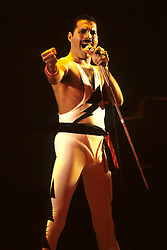 Sep. 07, 1984 - London, England, Great Britain - Freddie Mercury - Queen concert of the WORKS-TOUR at Wembley Arena, London (Credit Image: © Future-Image/ZUMApress.com)