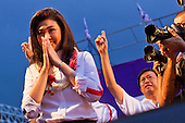 Pheu Thai Election Rally in Bangkok
