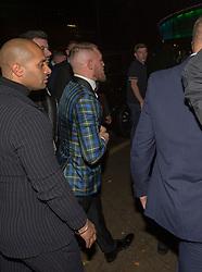 Conor McGregor arriving at the SEC Armadillo tonight.