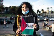 {iptcdate} /URUGUAY / MONTEVIDEO / Concentración de OurVoice en la Rambla de Parque Rodó contra los ataques de Israel a Palestina y contra la represión en Colombia.<br /> <br /> En la foto: Concentración de OurVoice contra los ataques de Israel a Palestina y contra la represión en Colombia, en la Rambla del Parque Rodó. Foto: Santiago Mazzarovich / adhocFOTOS