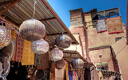 A stall  in the medina, Marrakech, Morocco, North Africa<br /> <br /> (c) Andrew Wilson | Edinburgh Elite media