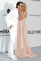 May 23, 2019 - Antibes, Alpes-Maritimes, Frankreich - Brandon Thomas Lee and Pamela Anderson attending the 26th amfAR's Cinema Against Aids Gala during the 72nd Cannes Film Festival at Hotel du Cap-Eden-Roc on May 23, 2019 in Antibes (Credit Image: © Future-Image via ZUMA Press)