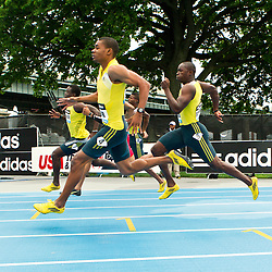 adidas Grand Prix professional track & field meet: mens 200 meters, Warren Weir