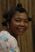 Antandroy woman. This group of people live in the 'spiny' forest region of Southern MADAGASCAR