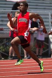 Denzel Tomaszewski, Wells, senior, Maine State Track & Field Meet - Class B; 100 meters