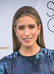 January 27, 2019 - Los Angeles, California, U.S - Renee Bargh at the red carpet of the 25th Annual Screen Actors Guild Awards held at the Shrine Auditorium in Los Angeles, California, Sunday January 27, 2019. (Credit Image: © Prensa Internacional via ZUMA Wire)
