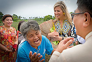 QUEEN MAXIMA VISITS philippines DAY 1