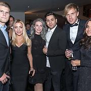 NLD/Utrecht/20171029 - Premiere Musical On Your Feet, Ogene , Shelly Vol en partner Rory de Kiviet , Amy Vol met partner Stan Jansen en Lisa Vol en partner Ergin Arslanbas