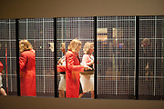 TINA O'CONNELL; ANYA GALLACCIO; <br /> Opening of Eadweard Muybridge and Rachel Whiteread exhibitions. Tate Britain. Millbank. 6 September 2010. -DO NOT ARCHIVE-© Copyright Photograph by Dafydd Jones. 248 Clapham Rd. London SW9 0PZ. Tel 0207 820 0771. www.dafjones.com.