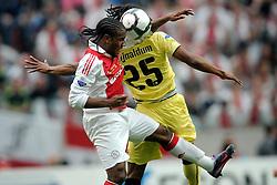25-04-2010 VOETBAL: AJAX - FEYENOORD: AMSTERDAM<br /> De eerste wedstrijd in de bekerfinale is gewonnen door Ajax met 2-0 / Vurnon Anita en Georginio Wijnaldum<br /> ©2009-WWW.FOTOHOOGENDOORN.NL