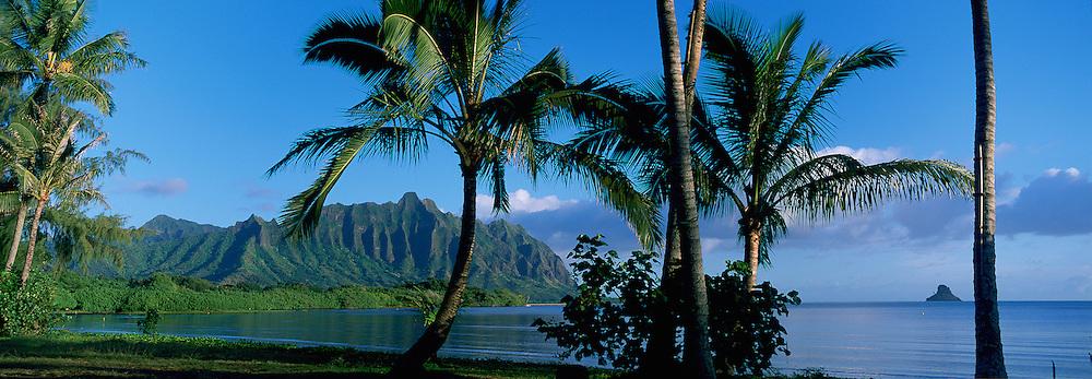 Waikane, Kaneohe Bay, Kaneohe, Oahu, Hawaii, USA<br />