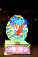 Snake Lantern at Chinese New Year