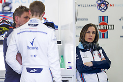 April 28, 2018 - Baku, Azerbaijan - WILLIAMS Claire (gbr), Deputy Team Principal, portrait during the 2018 Formula One World Championship, Grand Prix of Europe in Azerbaijan from April 26 to 29 in Baku  (Credit Image: © Hoch Zwei via ZUMA Wire)