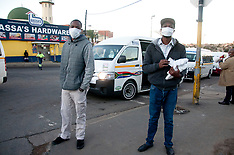 Taxi Ranks during Covid-19