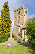 Church of All Saints, Christian Malford, Wiltshire, England, UK