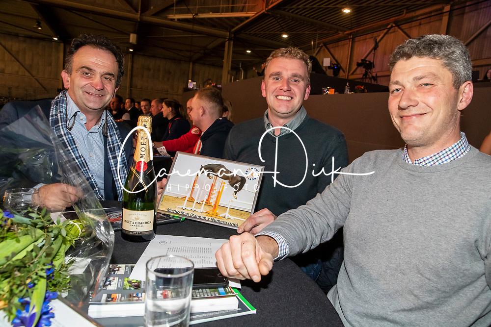 KWPN Select Sale, Veilingmeester Frederik de Backer, BEL<br /> KWPN hengstenkeuring - 's Hertogenbosch 2020<br /> © Hippo Foto - Dirk Caremans<br /> 30/01/2020