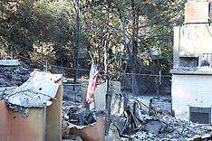 Malibu house burnt to the ground - 14 Nov 2018