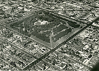 1947 Aerial photo of Barnsdall Park