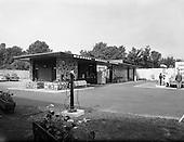 1963 - Exterior Merrion Service Station (Esso), Merrion Road