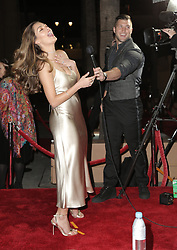HOLLYWOOD, CA - FEB 11: Newly-engaged Tim Tebow and fiancé Demi-Leigh Nel-Peters attend the world premiere of Tim produced movie, Run The Race held at Egyptian theatre in Hollywood, California on February 11, 2019. 11 Feb 2019 Pictured: Tim Tebow, Demi-Leigh Nel-Peters. Photo credit: @KimiaJoon / MEGA TheMegaAgency.com +1 888 505 6342