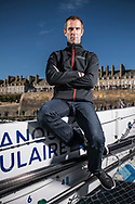 Armel Le Cléac'h on Maxi Solo Banque Populaire IX during the Route du Rhum 2018, on October 30th, in Saint Malo, France, before the Route du Rhum sailing race to start on November 4th 2018 - Photo Vincent Curutchet / ProSportsImages / DPPI