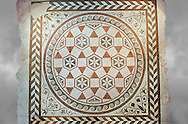 .<br /> <br /> If you prefer to buy from our ALAMY PHOTO LIBRARY  Collection visit : https://www.alamy.com/portfolio/paul-williams-funkystock/national-roman-museum-rome-mosaic.html <br /> <br /> Visit our ROMAN ART & HISTORIC SITES PHOTO COLLECTIONS for more photos to download or buy as wall art prints https://funkystock.photoshelter.com/gallery-collection/The-Romans-Art-Artefacts-Antiquities-Historic-Sites-Pictures-Images/C0000r2uLJJo9_s0